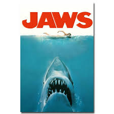 Jaws 1 2 Classic Movie Art Silk Poster 24x36inch 24x43inch 0546 Wall Stickers Decorations Wall Stickers Design From Wangzhi Hao8 12 05 Dhgate Com