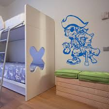 One Leg Pirate Wall Decal Style And Apply