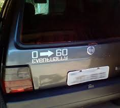 0 To 60 Eventually Decal Car Sticker Decals For Cars Funny Etsy