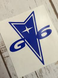 Pontiac G6 Vinyl Decal Sticker Car Window Decal Tumbler Decal Pontiac G6 Pontiac Emblem Choice Of 62 Colors Vinyl Decals Pontiac Emblem Window Decals