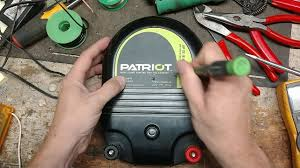 Patriot Electric Fence Charger Repair Review Youtube