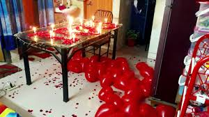 anniversary decoration ideas at home