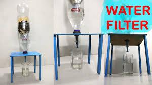 water filter at home easy way diy