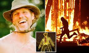 Aaron Mitchell identified as man who died at Burning Man | Daily Mail Online