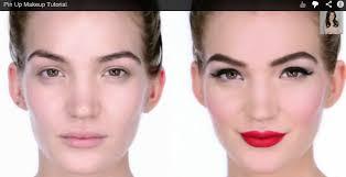 pin up makeup tutorial by lisa eldridge
