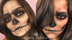 skull makeup tutorials to try for halloween