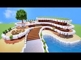 villa de luxe sur minecraft tuto