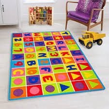 Abc Puzzle Letters And Numbers Kids Educational Play Mat For School Classroom Kids Room Daycare Nursery Non Slip Gel Back Rug Carpet 3 By 5 Feet Walmart Com Walmart Com