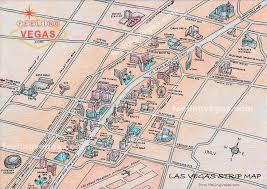 las vegas strip map hotels s