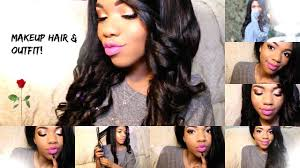 get ready with me hair makeup