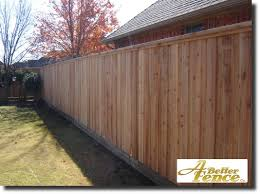 Decorative Privacy Fence With Full Trim Wooden Fence Designs
