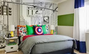 Modern Super Hero Kids Room Project Nursery