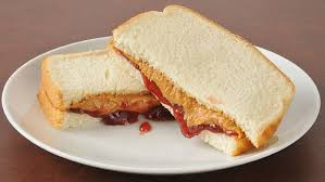 peanut er and jelly pb j sandwich