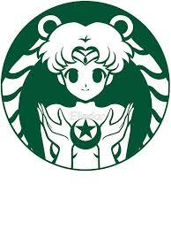 Moonbucks By Ellador Mermaid Sticker Sailor Moon Art Sailor Moon