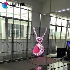 china indoor super slim hd transpa