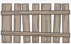 Cartoon Wooden Fence Png Free Transparent Png Download Pngkey