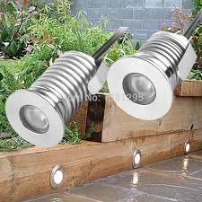 outdoor led recessed deck floor light
