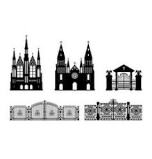 Gothic Revival Victorian Vector Images Over 420