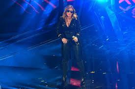 SABRINA SALERNO Performs at Sanremo Festival 02/08/2020 – HawtCelebs