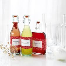 homemade pomegranate vodka drinks