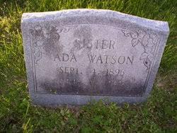 Ada Watson (1895-1953) - Find A Grave Memorial