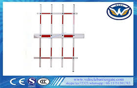 Automatic Gate Arms Three Fence Arm For Parking Barrier Gate