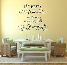 The Best Wine Quote Quotes Wall Stickers Home Room Vinyl Art Decals Decor Ebay