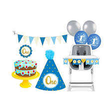 Prettyurparty 1st Birthday Cake Smash Package Photo Shoot Props For Boys Medium Multicolor Amazon In Toys Games
