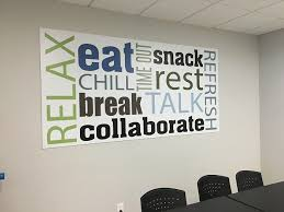 Boost Morale With Break Room Wall Graphics In Escondido Ca