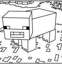 25 Gratis Te Printen Minecraft Kleurplaten Festa Minicraft