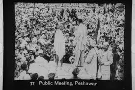 File:Gandhi at Peshawar meeting.jpg - Wikimedia Commons