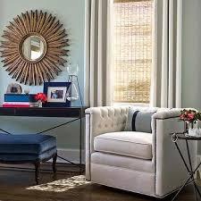 round brass sunburst mirror design ideas