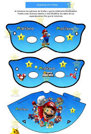 Kit Imprimible Mario Bros Candy Bar Golosinas Invitaciones 198