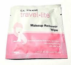 makeup remover wipe sachet travel size