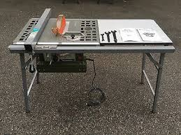 Makita 2708 8 1 4 Table Saw Folding Table Besseymeyer Rip Fence And More 360 00 Picclick
