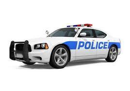 Police Car Wall Decal Wallmonkeys Com