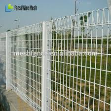 50x100mm 3d curved garden fence panels
