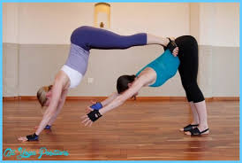 yoga poses with two people