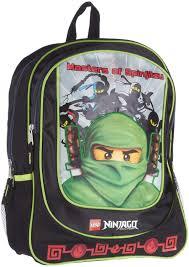 Amazon.com: LEGO 16 inch Ninjago Backpack - Black (Black): Sports ...