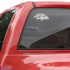 Amazon Com Baltimore Ravens 8 X8 White Decal Logo Football Apparel Sports Outdoors