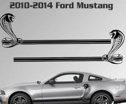 Product 2010 2014 Ford Mustang Rocker Stripe Vinyl Decal Sticker Gt 5 0 Graphic Cobra