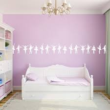 Ballerina Border Wall Decals Girls Dancing Wall Border Sweetums Signatures