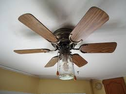 mason jar ceiling fan diy