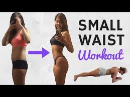 smaller waist workout for flat belly