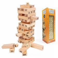 Bộ trò chơi rút gỗ lớn N9 cho bé giá rẻ thiết kế tự nhiên tại TP HCM