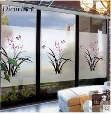 erfly love flower window sticker