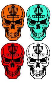 Disc Golf Skull On Storenvy