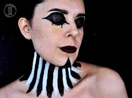female clown makeup tutorial from