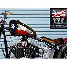 Amazon Com East Coast Vinyl Werkz Texas State Flag 2 Pc Set Fuel Tank Decals For Harley Davidson Sportster Automotive