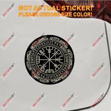Norse Bumper Sticker Window Decal Vegvisir Viking Compass Vinyl Decal